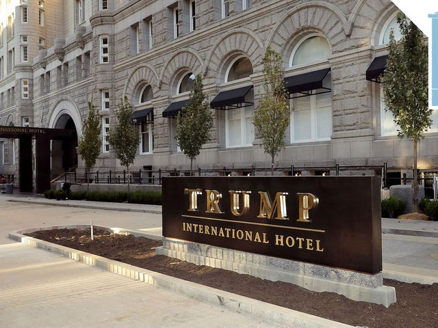 Republikanische Gruppen haben sicher eine Menge Geld bei Trump Properties ausgegeben