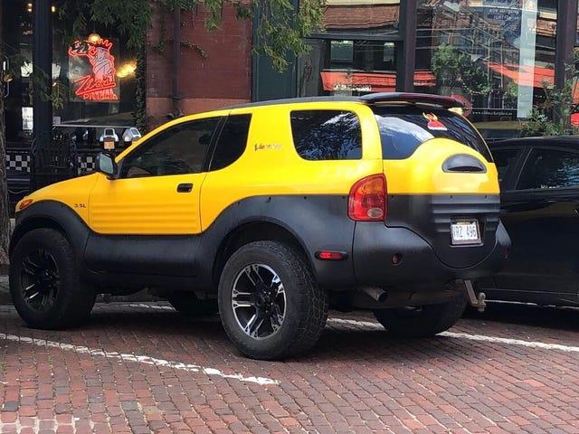 It looks like a little Tonka truck