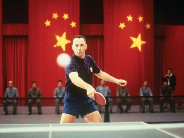 Tom Hanks miał trochę pomocy CGI w swoich scenach ping-ponga Forrest Gump