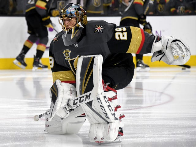 So Uh Marc-Andre Fleury Could Be Out A While