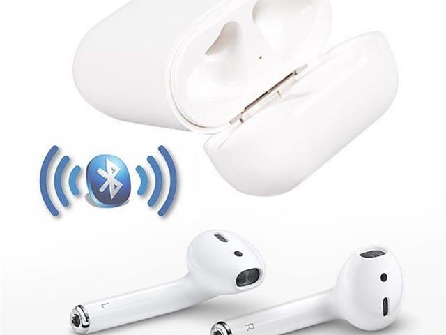 Draadloze Earpods Bluetooth-hoofdtelefoon Headsets Sport-oortelefoon - Fathers Day-cadeau voor slechts $ 20