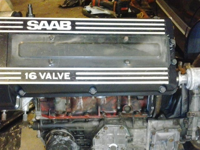 Saab Engine Reassembly Mini-Photodump