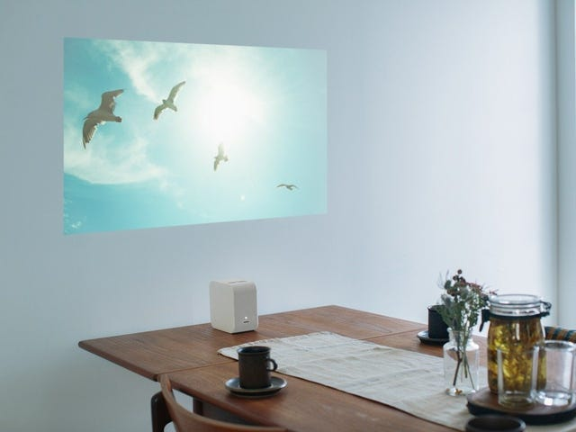 Save $150 On Sony's Tiny Short Throw Projector