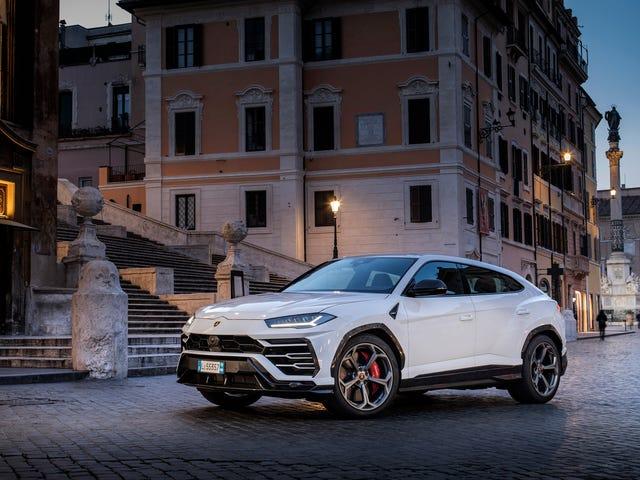 Casi el 60 por ciento de las ventas de Lamborghini en lo que va del año han sido SUV Urus
