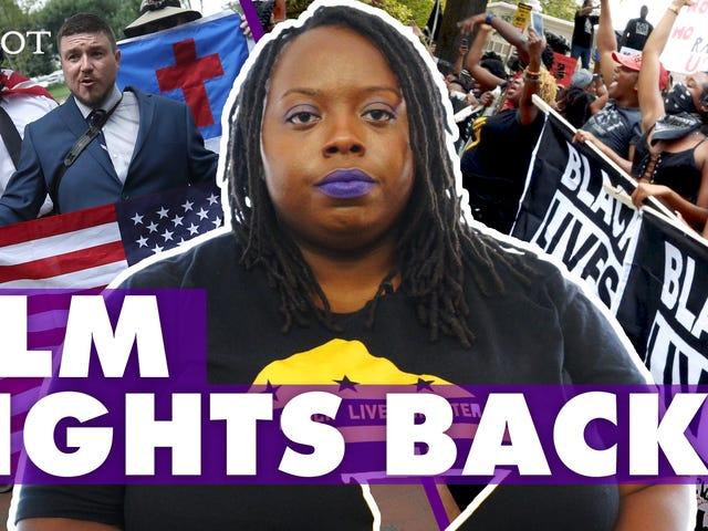 Detta är hur svart glädje och motstånd triumferade över vitt överlägsenhet vid DC: s förenar rätt rally