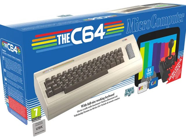 A Commodore 64 Clone With a Working Retro Keyboard Will Finally Arrive This Year