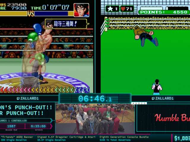 Hey, This Dude Is Beating Both Punch-Out!! Games Simultaneously