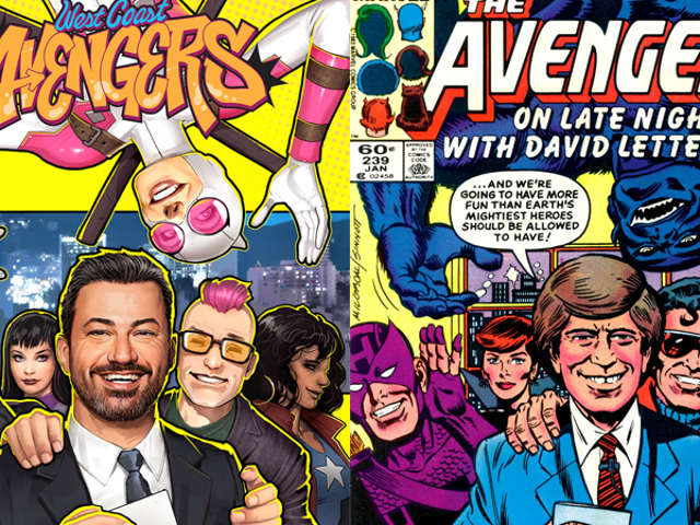 Jimmy Kimmel's Coming to West Coast Avengers, Carrying on a Weird Old Marvel Tradition