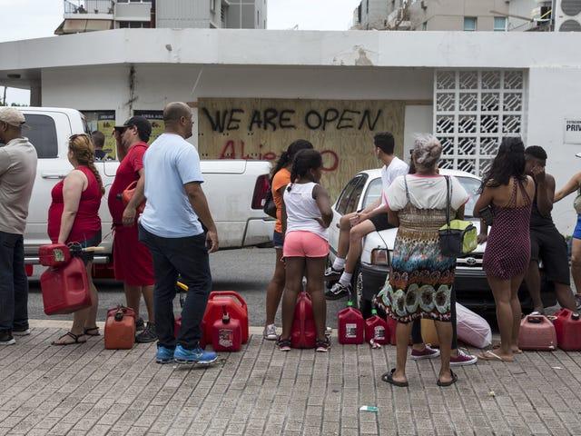 The Burgeoning Humanitarian Crisis in Puerto Rico