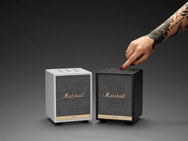 Nowy inteligentny głośnik Marshall Itty Bitty oferuje duży dźwięk