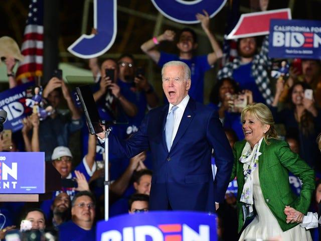 Joe Biden ha trascorso una notte molto buona