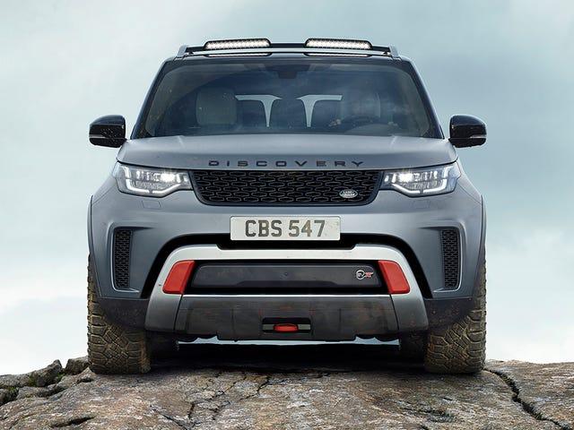 El 2018 Land Rover Discovery SVX está haciendo básica SUV culo significa otra vez