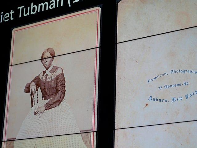 Ulusal Afrika Amerikan Tarihi ve Kültürü Müzesi'nde sergilenen Harriet Tubman'ın Yeni Fotoğrafı