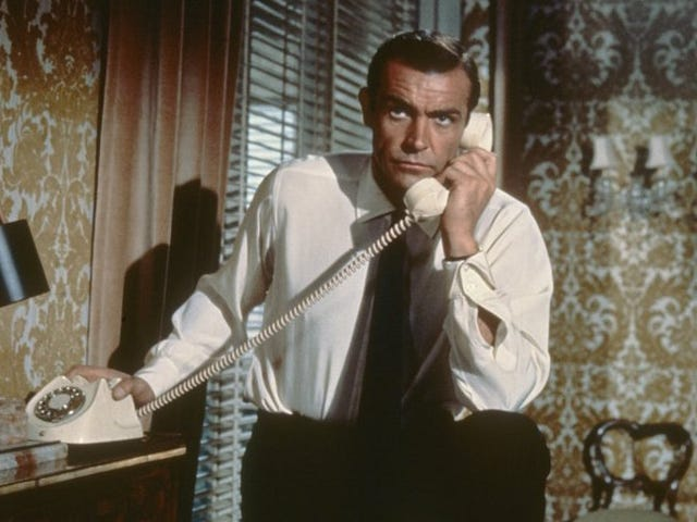 La insólita historia de la tees que sólo recocía la voz de Sean Connery