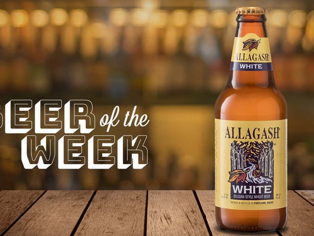 Allagash White is a classic witbier that should be on everyone's bucket list