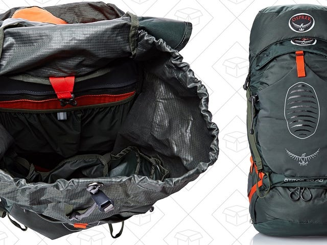 Hike Like a Pro With a Discounted Osprey Atmos Backpack