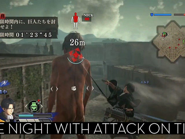 Up-All-Night Stream spelar <i>Attack on Titan</i> [Stream Finished]