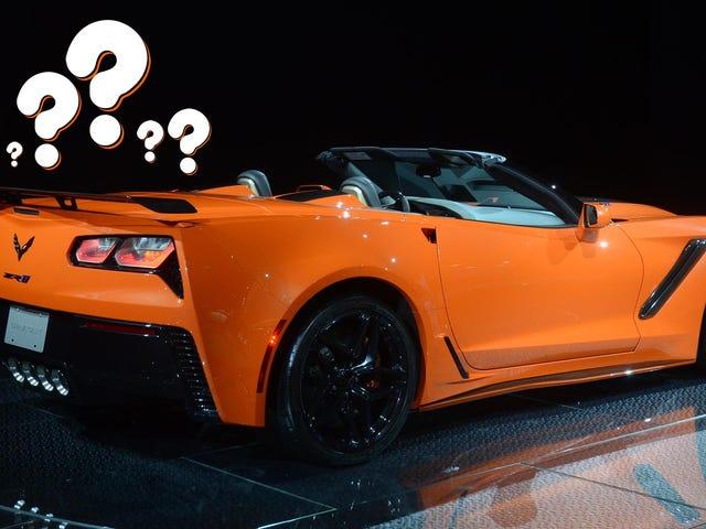 Please Describe The Sound Of The Corvette ZR1 In Seven Words