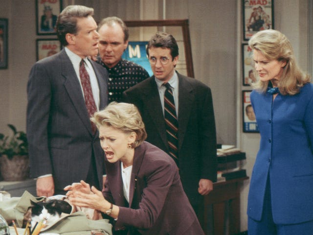 Murphy Brown's creator hopes Trump can't resist tweeting about the revival