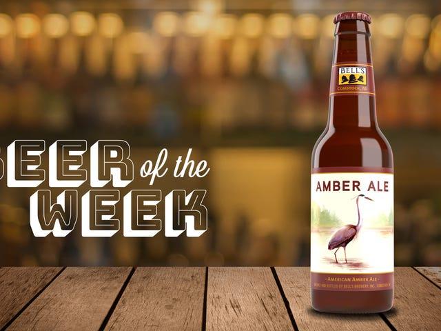 今週のビール:ベルズアンバーエール、私はあなたを恋しく思った