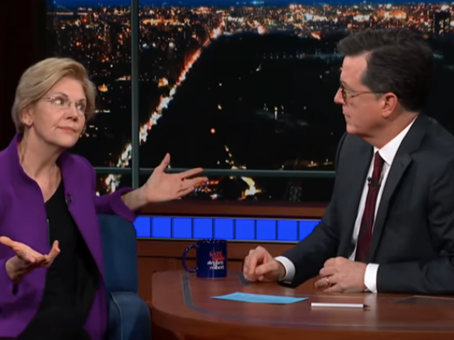 Elizabeth Warren tells Stephen Colbert the Mueller report needs to come out, Donald Trump to go out