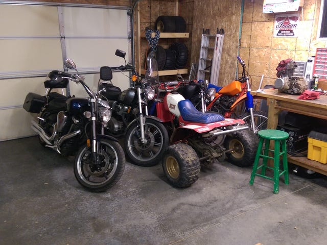 Garage is getting a little full.