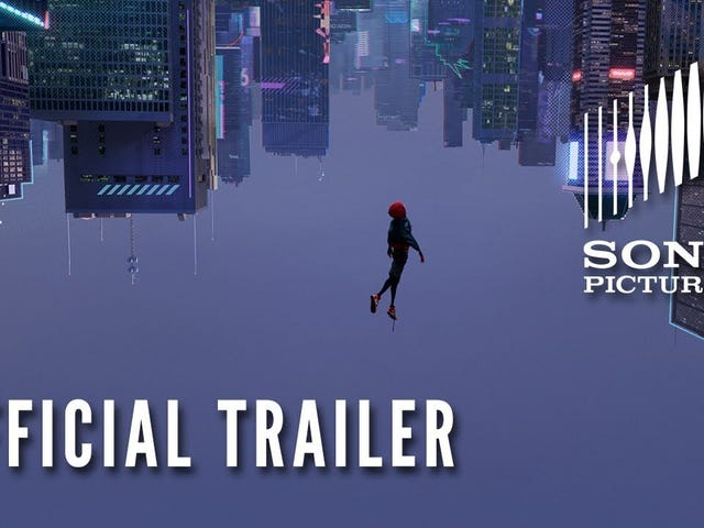 Official Teaser Trailer for Spider-Man: Into the Spider-Verse is Here