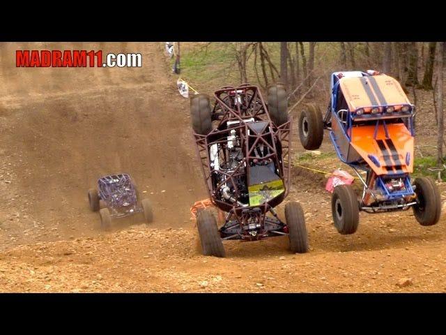 4 Wide Rock Bouncer Uphill Drag Racing