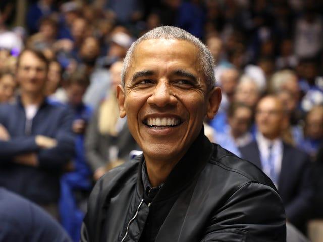 Barack Obaman lukion Jersey myy 120 000 dollarilla huutokaupassa