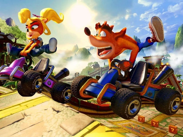 The Week In Games: If You Ain't Outta Control, You Ain't-A Bandicoot