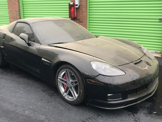 Someone Left This 720-Mile C6 Corvette Z06 In A Storage Unit And Now It's On eBay