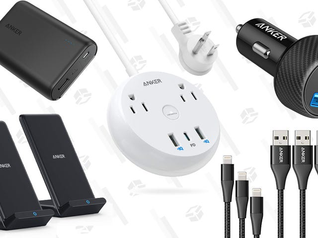 Save Big on Anker Charging Accessories Thanks to Today's Gold Box