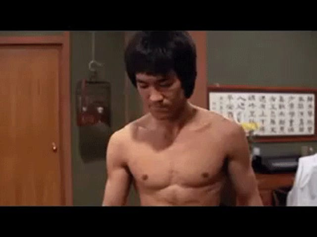 That time Bruce Lee fought a ghost...