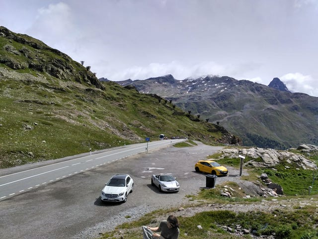 Europpomeet Alps trip final day, quick photodump
