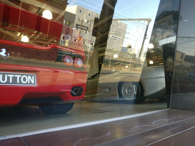 I saw a camo Cadillac prototype south of Melbourne