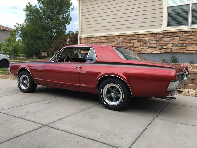 I didn't wait long enough! Dynacorn releases 1967-1968 Cougar rear quarter panels