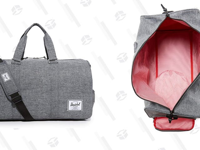 Ditch The Roller Bag For The Weekend And Grab This Herschel Duffel For $51