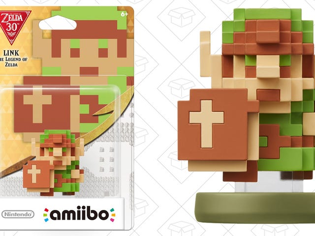 It's Dangerous to Go Alone! Take This 8-Bit Link Amiibo For $3 Off.
