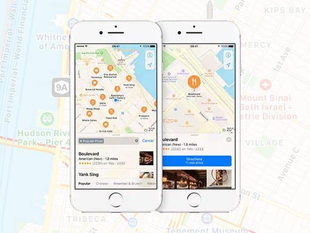 Nỗ lực tuyệt vọng mới nhất của Apple để bắt Google Maps Âm thanh Đặc biệt vô lý