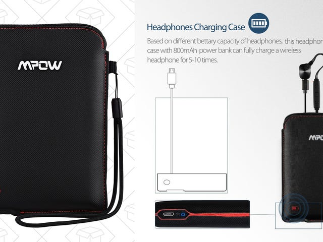 This $11 Battery Case Stores and Recharges Your Bluetooth Earbuds