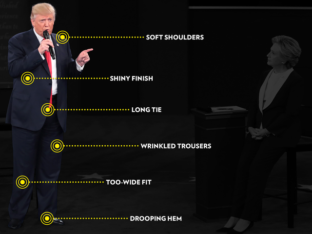 What Is Up With Trump's Ill-Fitting Suits? A World-Famous London Bespoke Tailor Explains