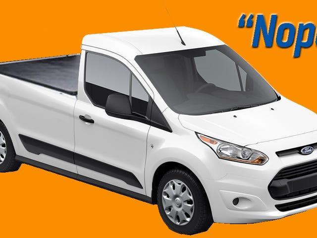 Despite Flood Of Rumors, Ford Says 'No Small Pickups, No New US Ranger'