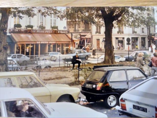 Streets of Paris circa 1981