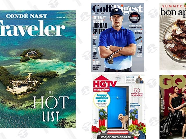 Pick Up Some Magazine Subscriptions For Your Kindle, Starting at Just $4 Each
