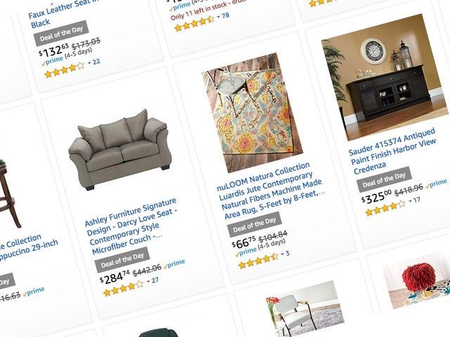 Trang trí lại toàn bộ ngôi nhà của bạn với đồ đạc, nệm và trang trí lên đến 40%
