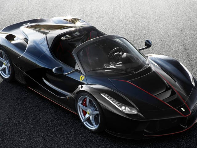 The LaFerrari Aperta Is For When You Need To Do 0-60 In Under 3 Seconds With The Wind In Your Hair