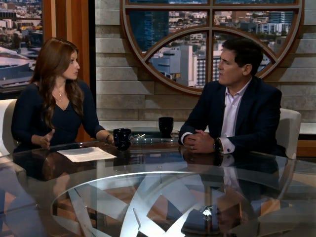 Rachel Nichols Grills Mark Cuban, Who Has No Good Answers