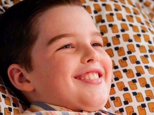 Jonge Sheldon nog steeds vrij, immuun voor de wetten van onze natie