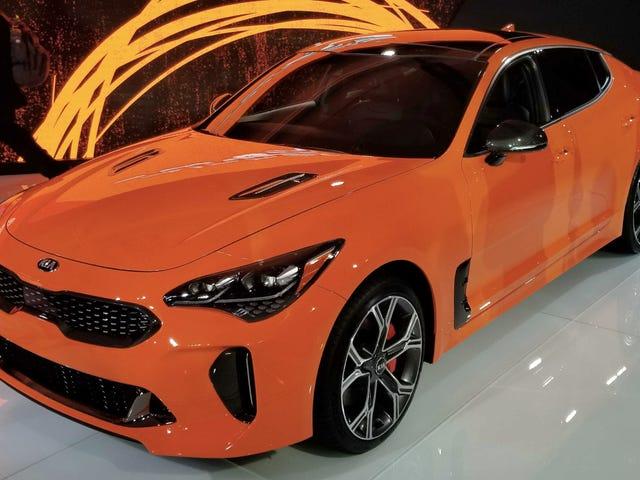 The 2019 Kia Stinger GTS Gets Drift Mode
