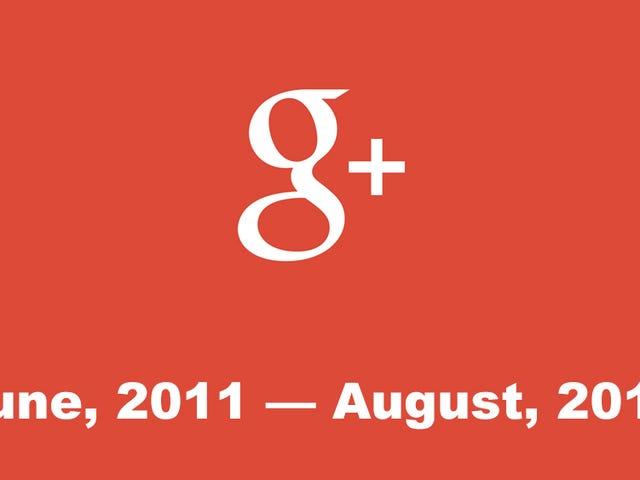 Google's Failed Social Network, Google+, Will Be No More